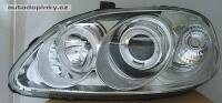 Přední světla (lampy) Honda Civic --rok výroby 96-99 ** s ANGEL EYES