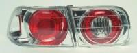 Zadní světla (lampy) Honda Civic 2/4dv. --rok výroby 92-95 ** chromové