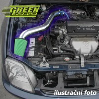 Air Intake System Green Speed'r Standart HONDA CIVIC 4 dv. 1,5L i LS 16V VTEC-E výkon 84kW (114hp) rok výroby 96-99