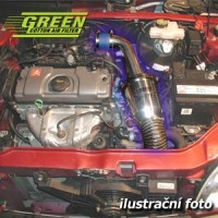 Air Intake System Green Speed'r TWISTER HONDA CIVIC 5 dv. 1,5L i 16V VTEC-E výkon 66kW (90hp) rok výroby 98-00
