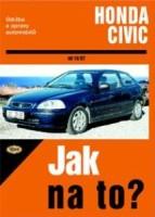 Kniha HONDA CIVIC /75 - 169 PS/ 10/87 - 12/00