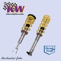 KW nastavitelný podvozek VARIANTA 2 Honda Civic typ (EP3, EP4 Type R a Diesel) výkon motoru 74+147 kW -- od roku výroby 09/01- ( regulace snížení přední nápravy 35-65mm, zadní nápravy 35-65mm )