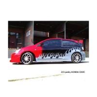 Prahové nástavce Sport Honda Civic 3dv. r.v.2002-