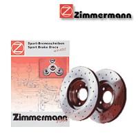 Zimmermann přední sportovní brzdové kotouče -vzduchem chlazené HONDA CIVIC IV (EG, EH)  -motor 1.5 i 16V, 1.6 16V Vtec -- rok výroby 10.91-11.95
